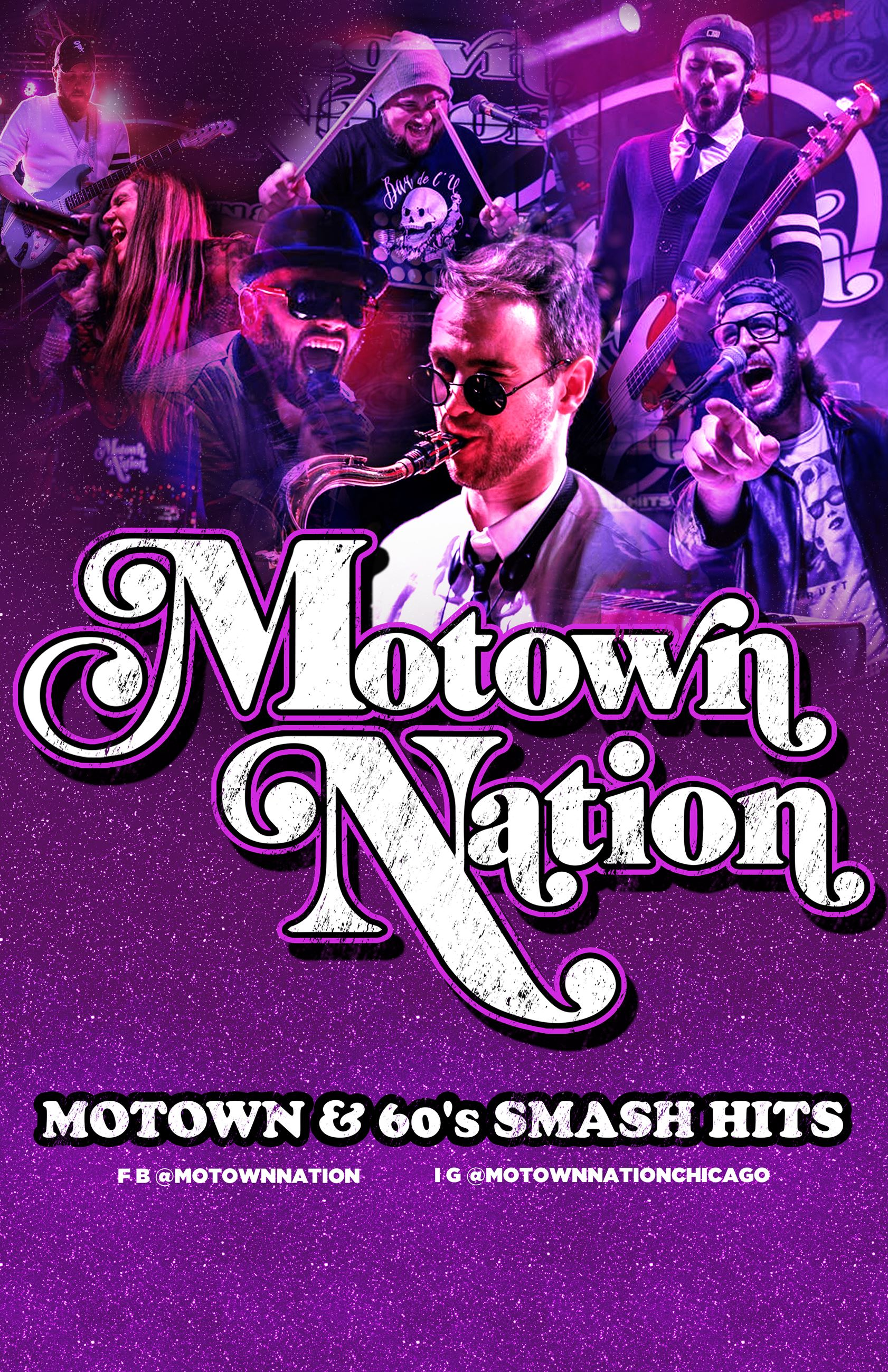 MOTOWN NATION POSTER w Abby