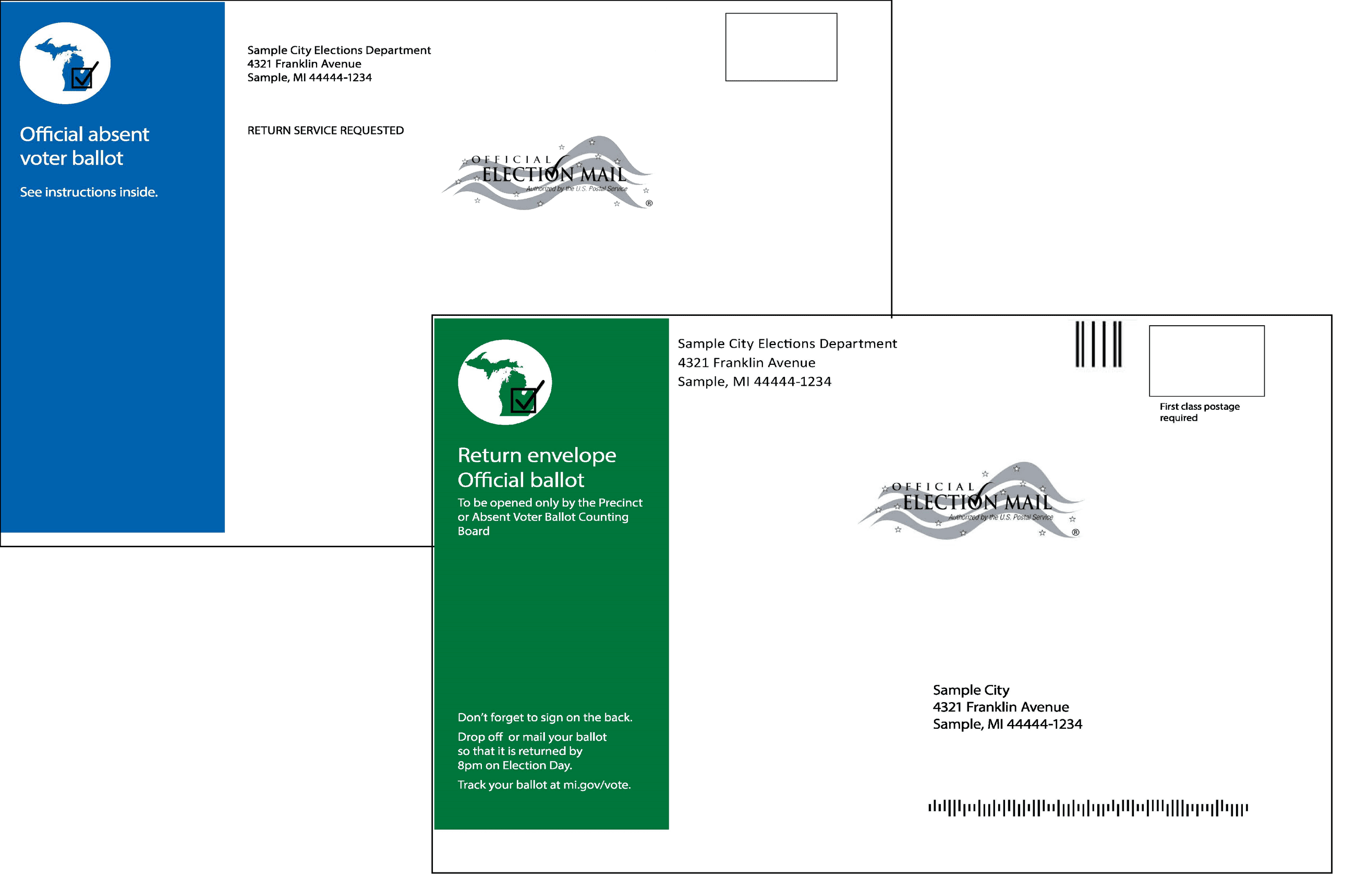 New AV Envelopes